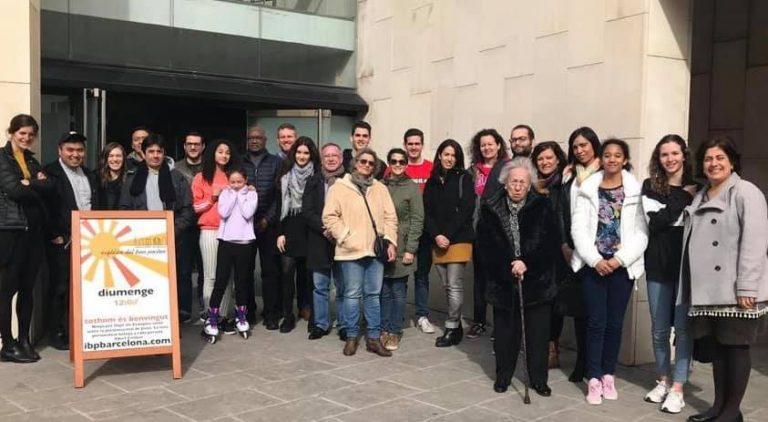 Visita episcopal a la parroquia del Buen Pastor de Barcelona