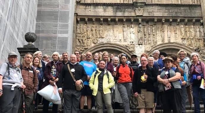 Finaliza la peregrinación conjunta de la UTO