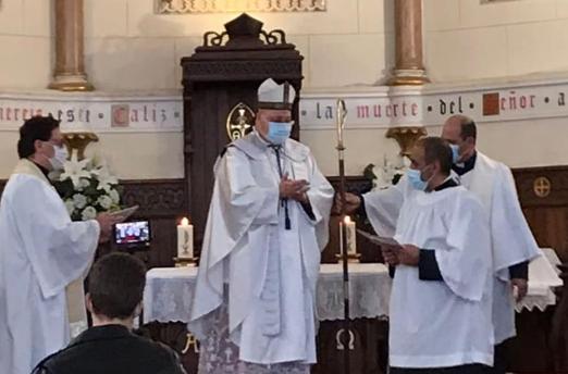 Nuevo lector seglar en la Catedral